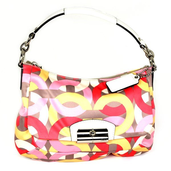 Coach Kristin Chain Link Print East-West Handbag