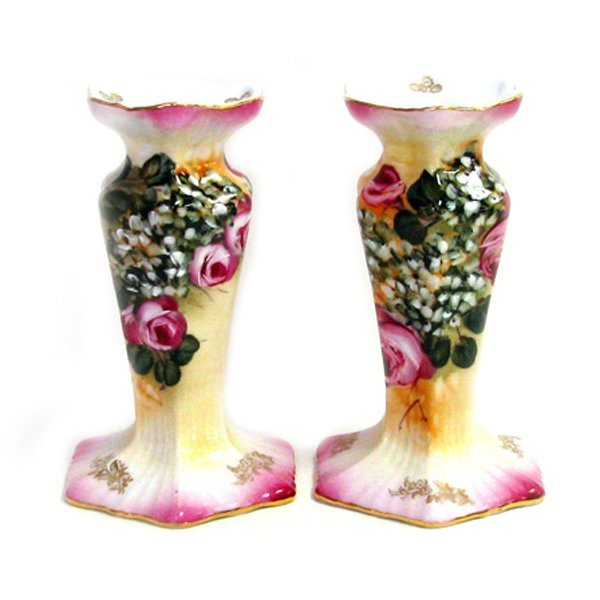 Candle Stick Stand Pair Set