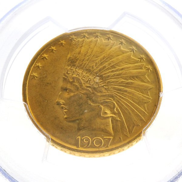 *1907 $10 Indian Head Gold Coin - Investment