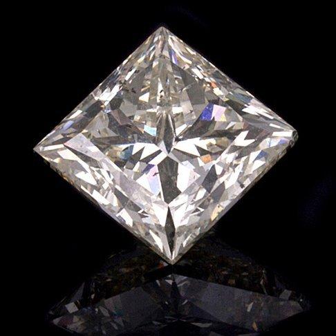 APP: 61.3k *5.00CT Princess Cut Diamond Gemstone