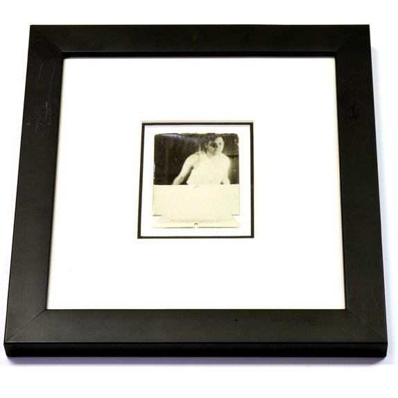 Rare Original Framed Babe Ruth Photo
