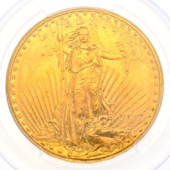 *1927 $20 U.S. Saint Gaudens Gold Coin - Investment