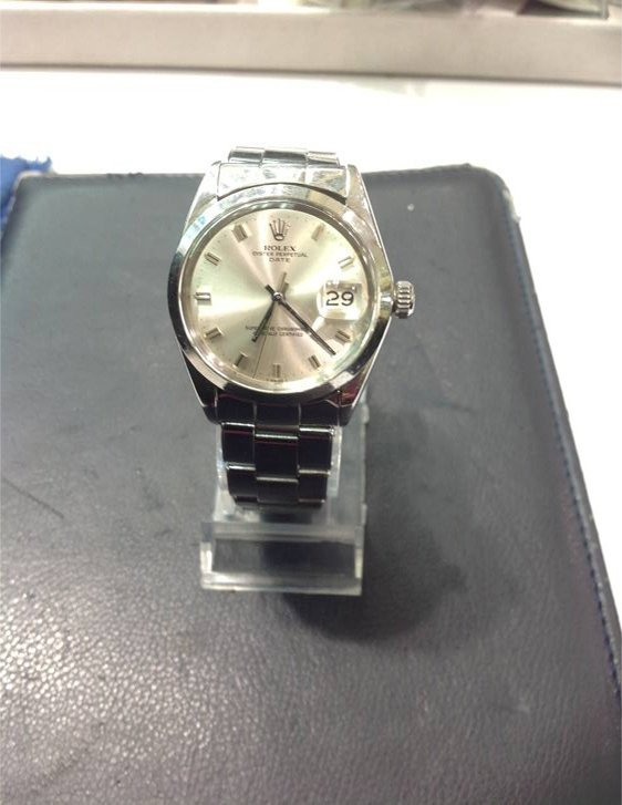 Men's Rolex Date Watch