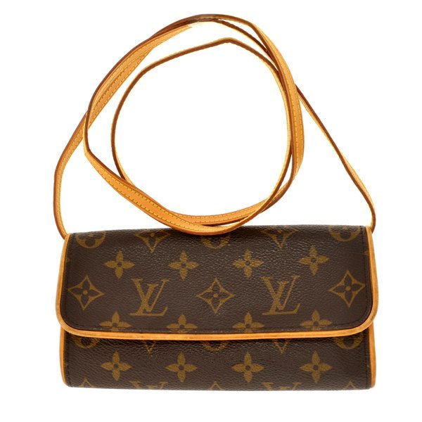 Authentic Louis Vuitton Monogram Pouchette Twin PM