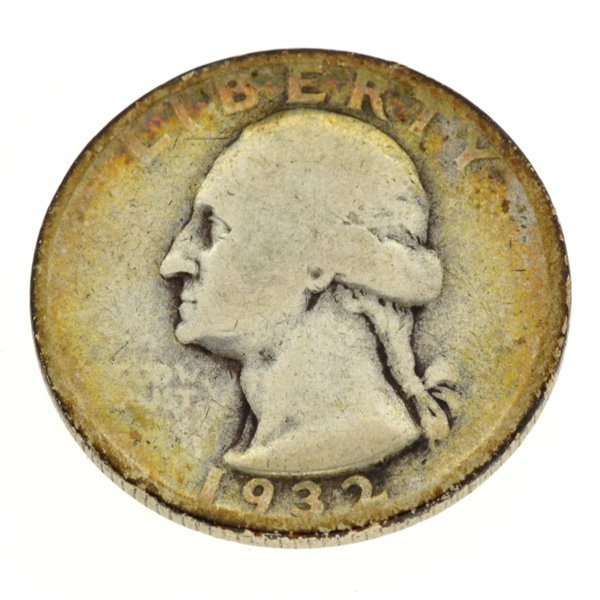 1932-S $.25 U.S. Washington Quarter Key Date Coin