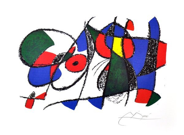JOAN MIRO Volume II - VIII Print, Limited Edition