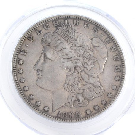 *1895-O U.S. Morgan Silver Dollar Coin - Investment