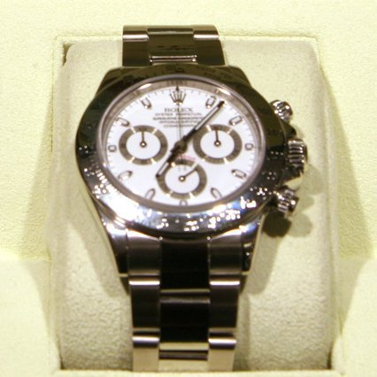 Rolex Daytona - Stainless, Original Box and Papers -P-