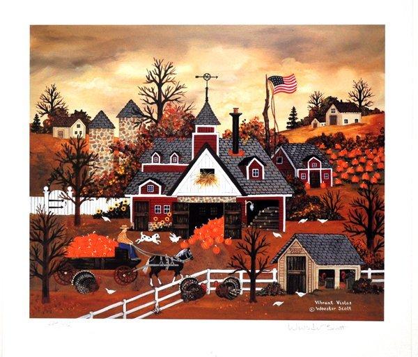 JANE WOOSTER SCOTT Vibrant Vistas Print, Limited Edn