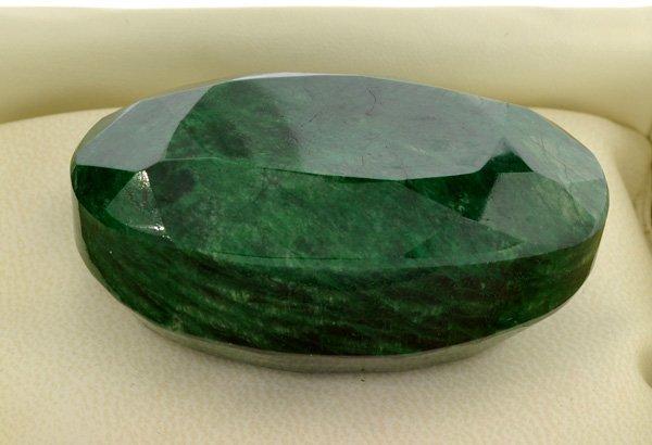 APP: 46.6k 694.90CT Oval Cut Emerald Gemstone