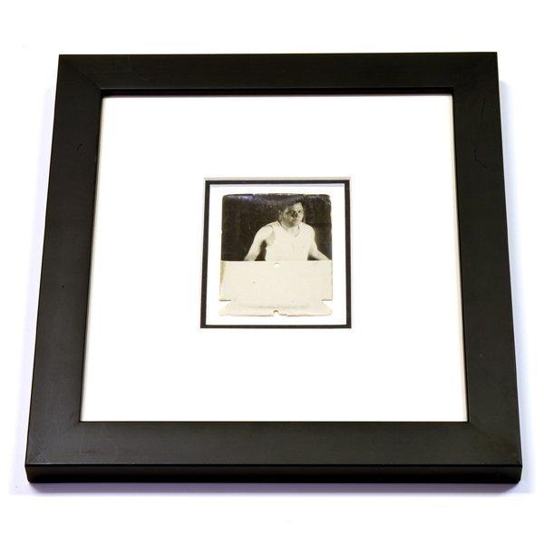 Rare Original Framed Babe Ruth Photo
