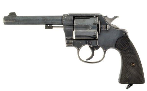 1900 Colt 455 Webley Revolver