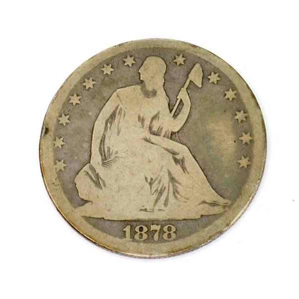 1978 U.S Half Dollar Liberty Seated Coin - Investment