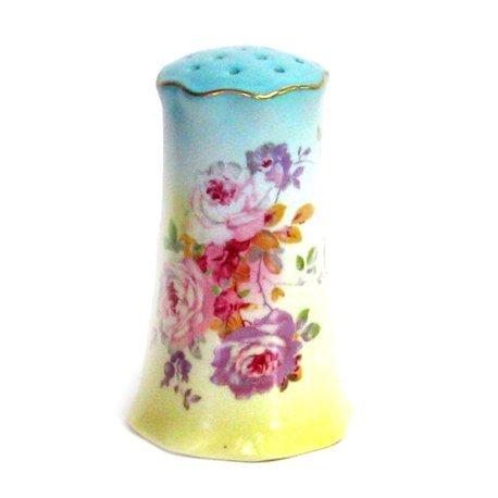 Chantilly Rose Hatpin Holder - Porcelain