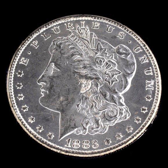 1883-CC United States Morgan Silver Dollar Coin