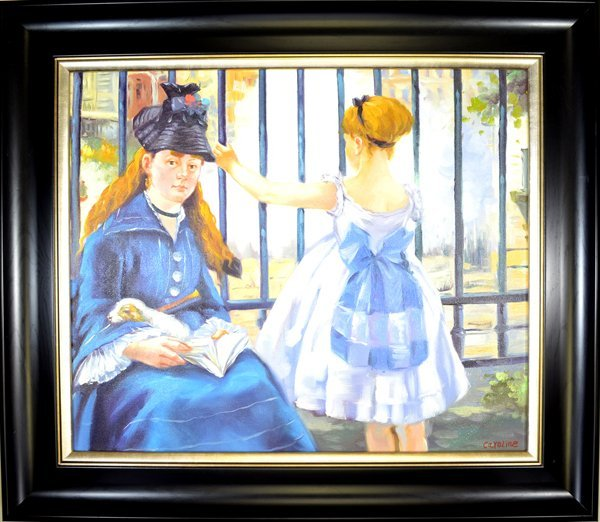 Original Painting Museum Framed Mint Condition 30x26.5