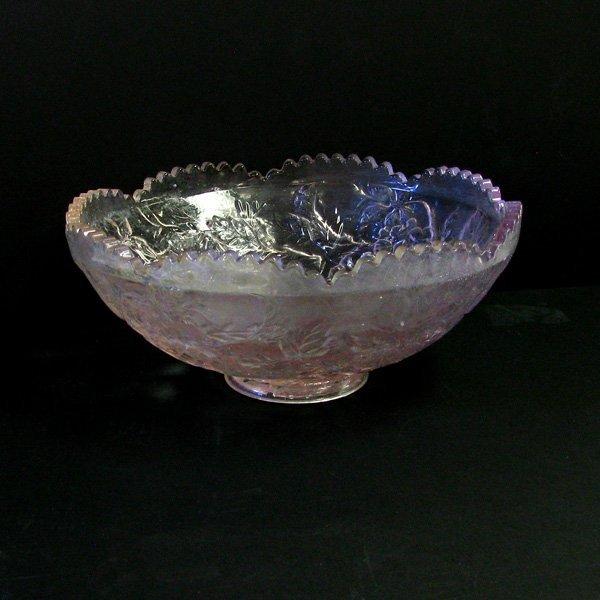 Pink Crystal  Fruit Bowl