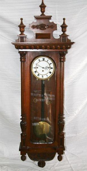 3 Weight German Clock-Mint-Original -P-
