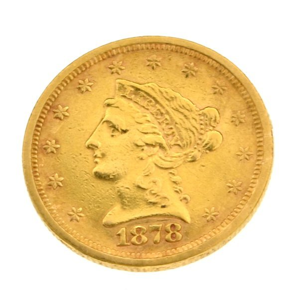 1878-S $2.50 U.S Liberty Head Type Gold Coin