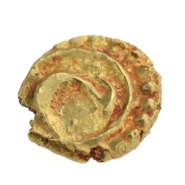 Mysore Tipu Sultan 1782-1799 AV Fanam Patan Coin