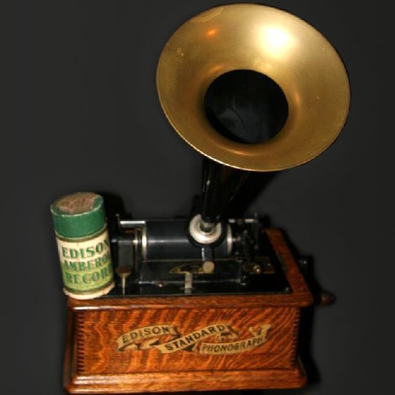 Early Restored Edison Phonograph 1910 -P-