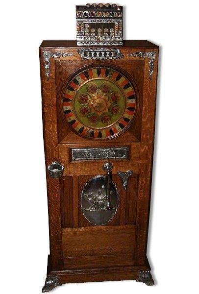 Rare Judge Up Right Slot Machine-Restored -P-