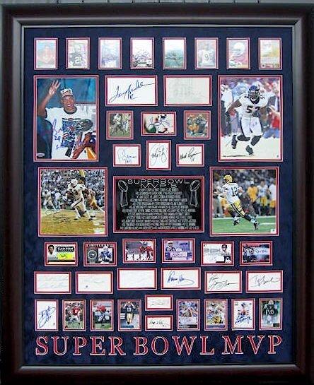 Super Bowl MVPs - Authentic Signatures