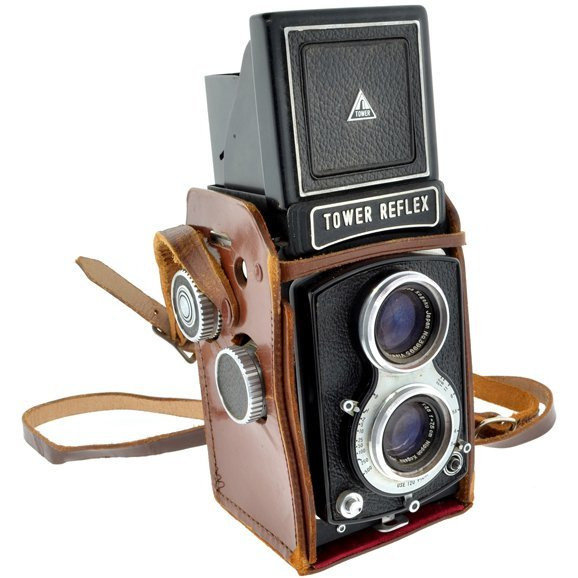 Tower Reflex Camera w/Nikkor Lenses by Nikon 1952-1954