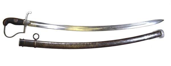 1860's Austrian Military Regimental Marks Sword