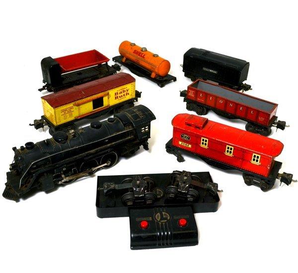 Lionel Pre-War Train Set 1938-1942 Steam Engine 5 Cars