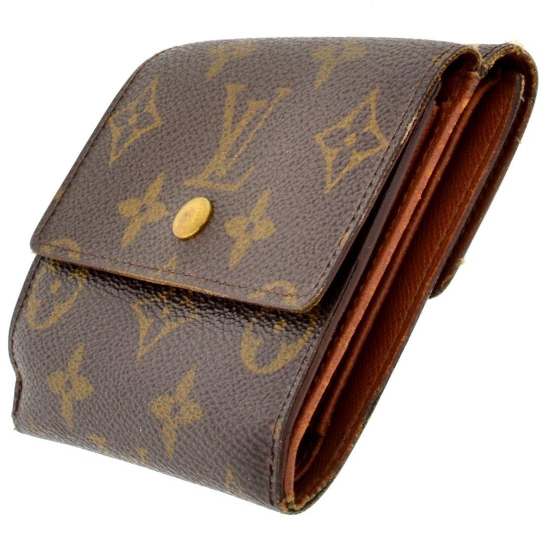 Louis Vuitton Monogram Canvas Wallet (Pre Owned)