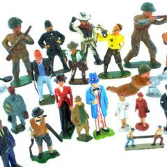 Lot of 36 Lead Figures Barclay Britains John Hill