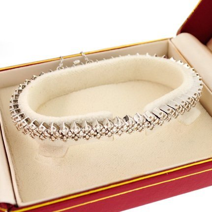 APP: 10.3k *14 kt. White Gold, 4.00CT Diamond Bracelet