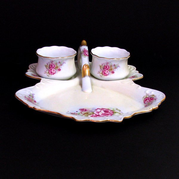 Limoges China  Berry  3 pc Set