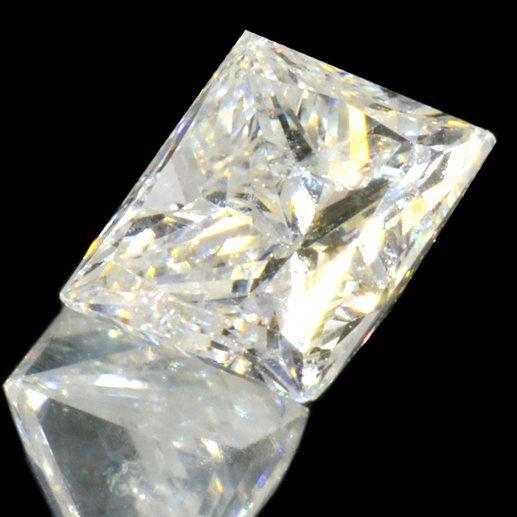 APP: 4k *0.61CT Princess Cut Diamond Gemstone