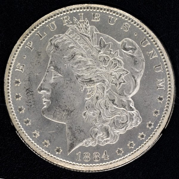 1884-CC United States Uncirculated Morgan Silver Dollar