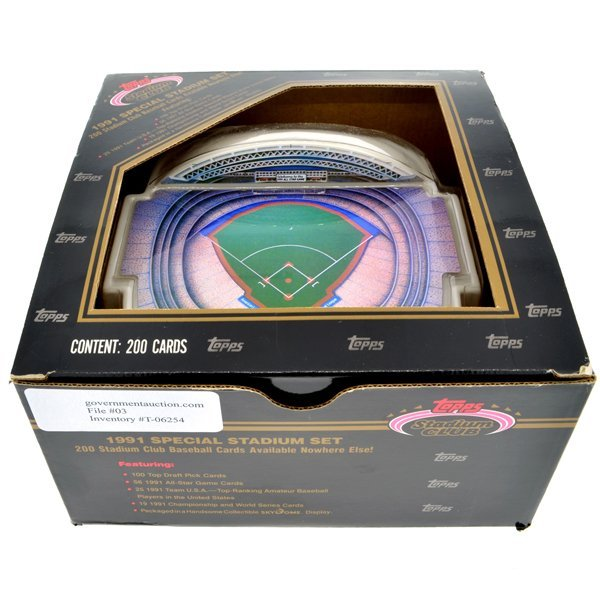 1991 Topps Special Stadium Baseball Cards Set