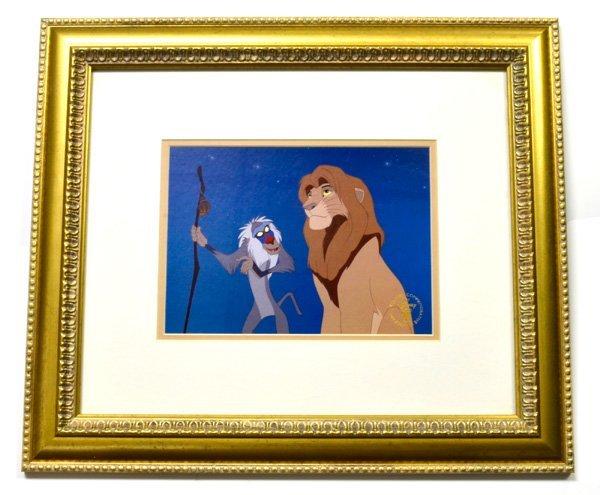 """Disney """"The Lion King"""" Print Museum Framed Ltd. Edn"""