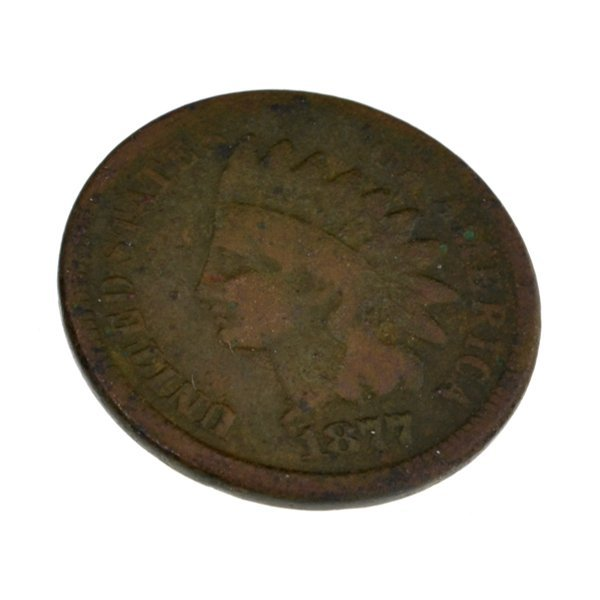 1877 Indian Head One Cent Coin - Investment