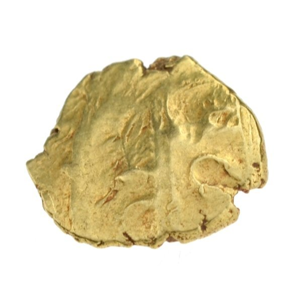 Extremely Sultan 1782-1799 AV Fanam Patan Gold Coin