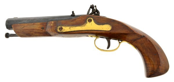 1780's Reissue Black Powder Flintlock Pistol