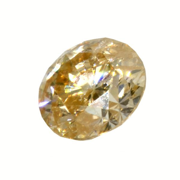 APP: 2.2k *0.54CT Round Cut Diamond Gemstone