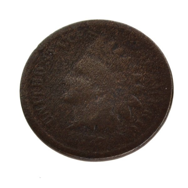 1877 One Cent Indian Head Coin - Investment