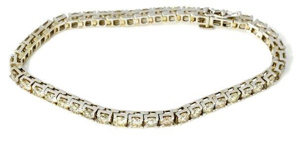 APP: 26k *8 CT 14kt White Gold, Diamond Tennis Bracelet