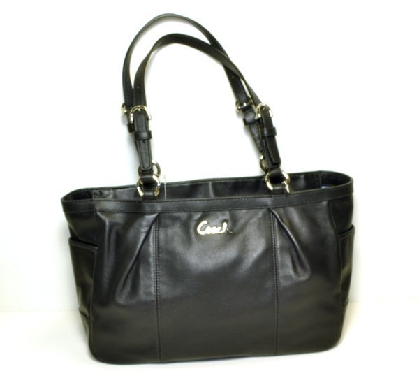 New Coach- Original- Handcrafted Black Leather Purse