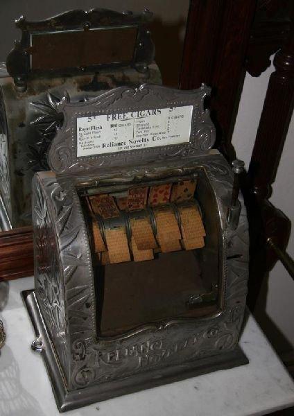 Rare Original Reliance Novelty Card Trade Stimulator