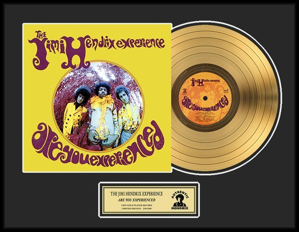 JIMI HENDRIX ''Are You Experienced'' Gold LP