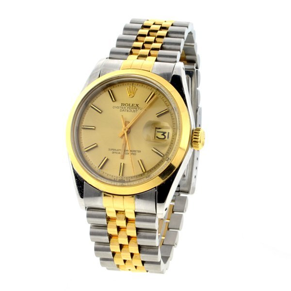 Rolex Oyster Perpetual Datejust Stainless Men's Watch