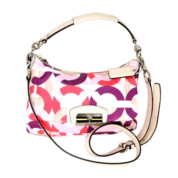 Coach Kristin Signature Multicolor Crossbody Bag