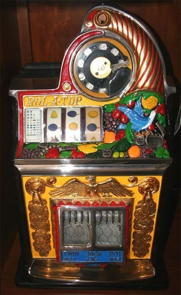Rare Rolatop Wattling Slot Machine - Fully Restored -P-